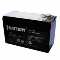 Аккумулятор AB7-12L 12V 7 Ач/20Hr